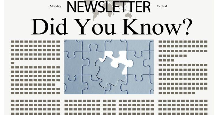 Týždenný newsletter pre zvedavých ľudí od júna