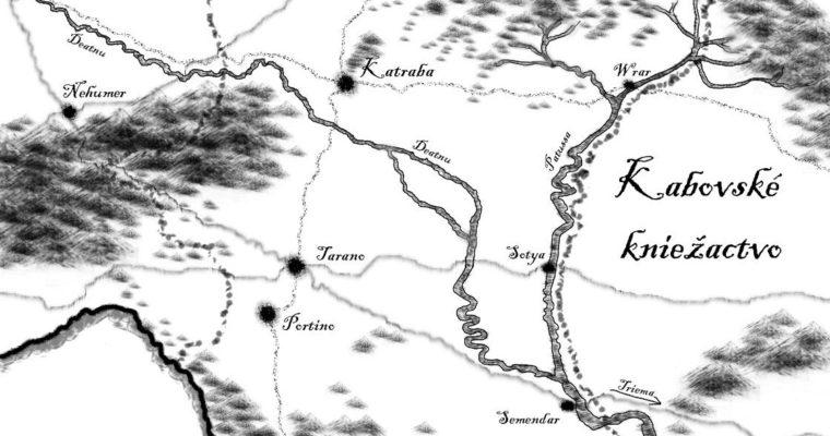 Gwind – mapa
